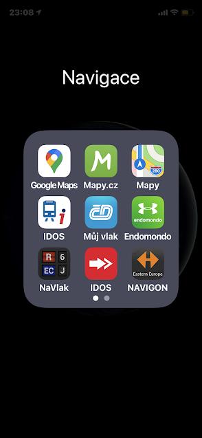 Aplikace na iOS