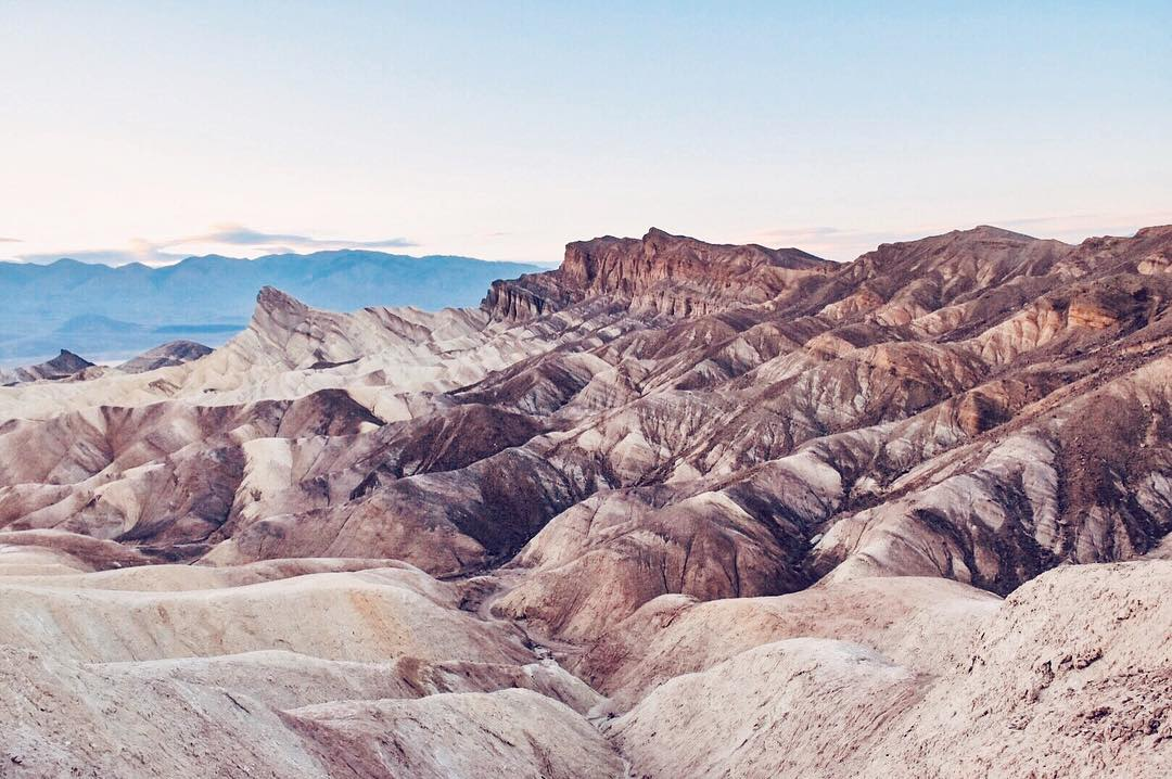 image of death valley landscape attractions in nevada