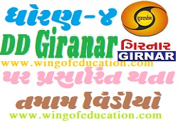 Std-4 DD Girnar Home Learning All Subjects Video August-2020 (www.wingofeducation.com)