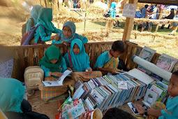 Festival Jerami : Dinas Pendidikan Sediakan Sudut Baca