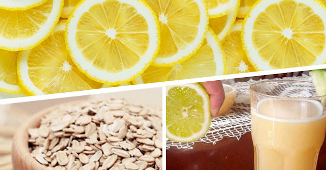 Oatmeal And Lemon Drink To Get Rid Of 4 Pounds In 5 Days