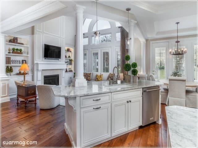 مطابخ مودرن خشب 4   Modern Wood kitchens 4
