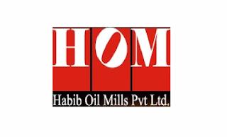 careers@habiboil.com - Habib Oil Mills HOM Internships 2021 in Pakistan