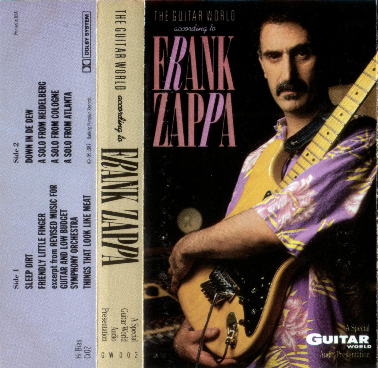 Tommy S Beach Cassette Rip Rare Frank Zappa Quot The