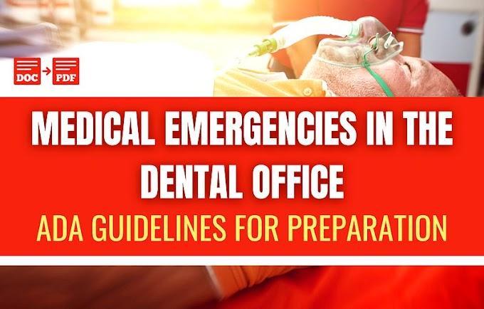 PDF: Medical Emergencies in the Dental Office - Barry Krall DDS