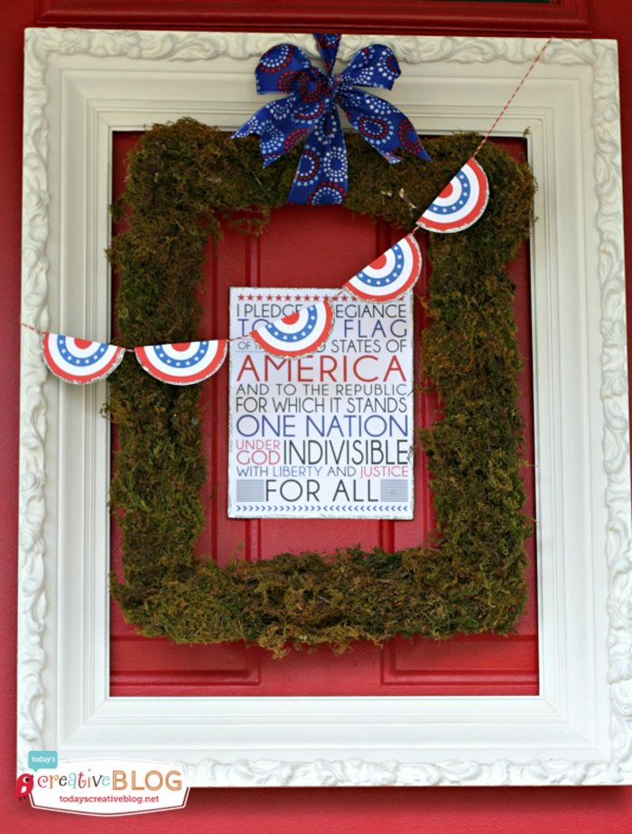 Front Door Fourth of July Print