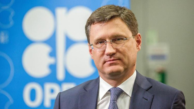 Image Attribute: A file photo of Russia's Energy Minister Alexander Novak