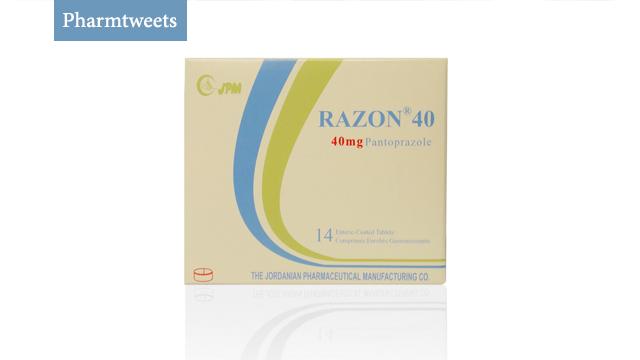 دواء رازون Razon ومادته الفعالة Pantoprazole