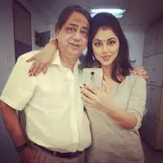 Reema Worah with her father