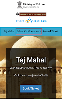 Online Booking of Delhi Monuments