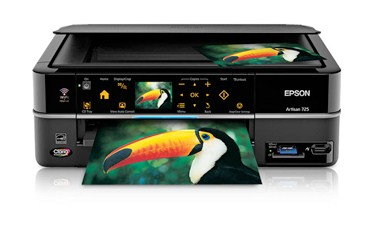 Epson Artisan 725 Printer Color Inkjet All-In-One Print | Copy | Scan | Ultra HD Photo | Wi-Fi