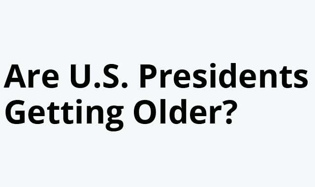 Are the US Presidents entering their old age?