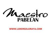 Lowongan Kerja Teknisi Variasi Mobil di Maestro Pabelan