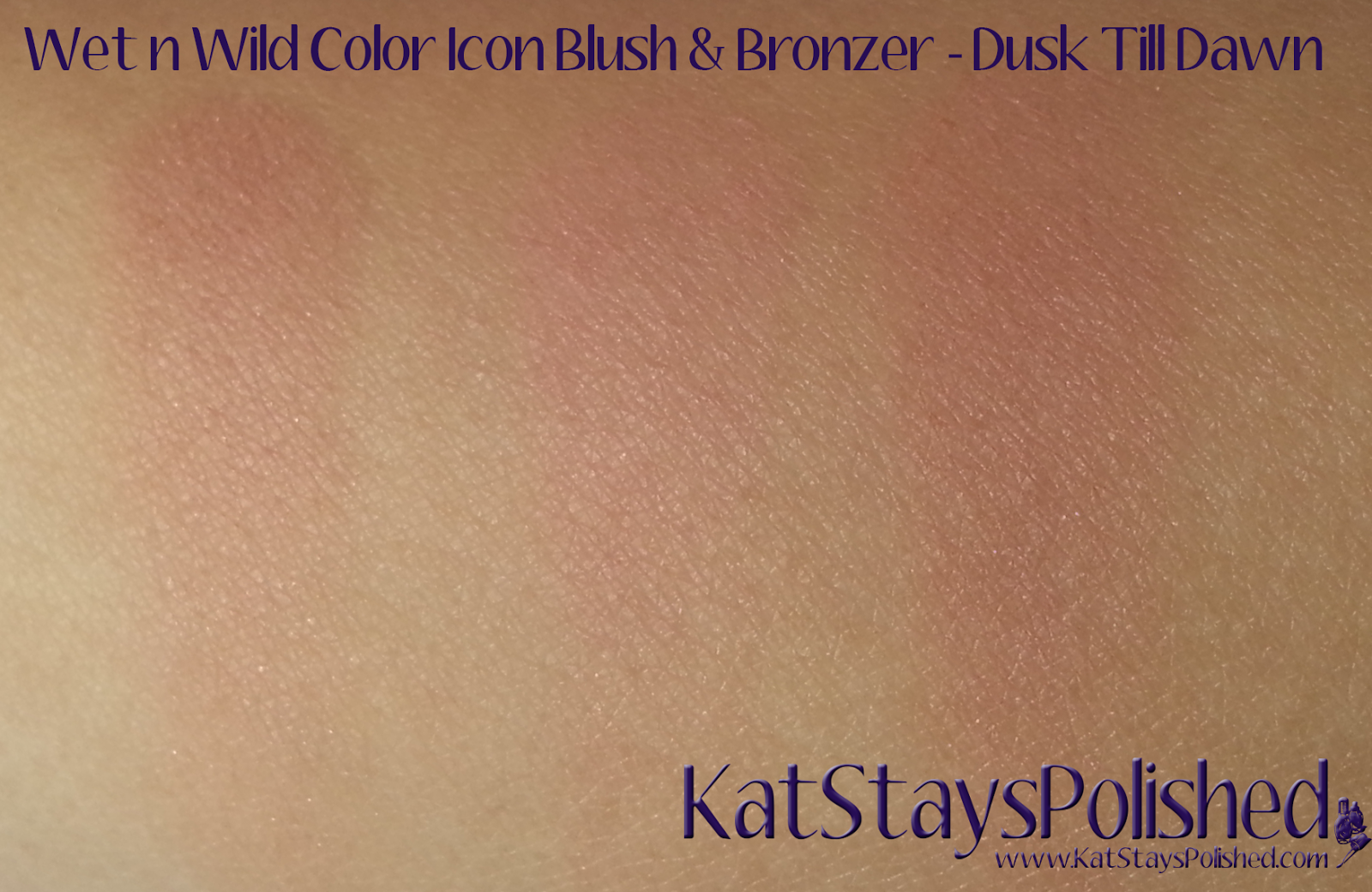 Wet n Wild ColorIcon Bronzer & Blush - Summer 2014 - Dusk Till Dawn | Kat Stays Polished