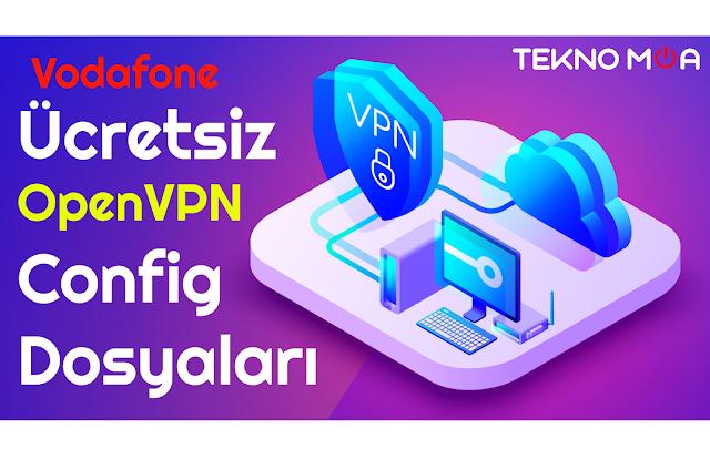 Ücretsiz, Hazır Open Vpn Config Dosyaları - Vodafone