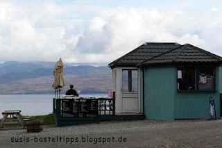 kleines Cafe mit großer Aussicht, Isle of Skye Schottland, Foto von Stampin' Up! Demonstratorin in Coburg