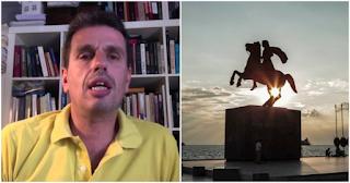 Ελληνας καθηγητής: «Ο Αλέξανδρος ο Μακεδών, δεν είναι σημαντικότερος από ένα σωρό σκουπιδιών»