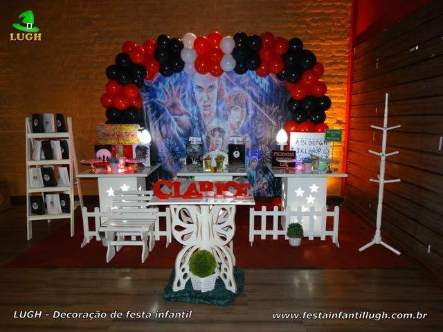 Decoração Stranger Things - Festa de aniversário - Barra - RJ