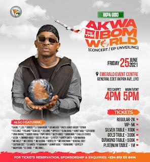 GX GOSSIP: Ikpa Udo Announces Akwa Ibom To The World Concert [ @Ikpa_Udo ] #AkwaIbomToTheWorldConcert