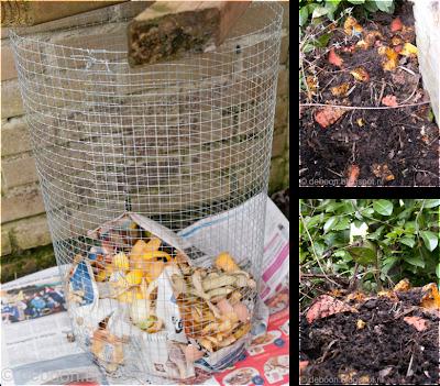 compost composteren composthoop