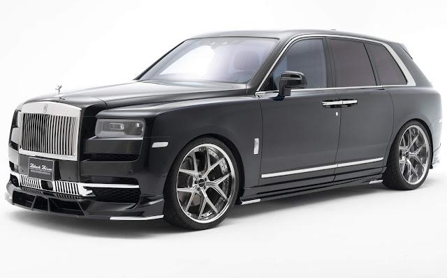 Rolls Royce Cullinan 2020 todo enfeitado chega ao Japão