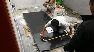 Pengukuran Marmer Granit