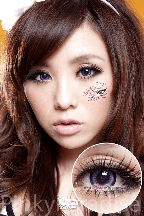G&G Max Pure Violet Circle Lenses (Colored Contacts)