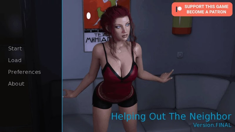 Helping Out The Neighbor APK Android Port Adult Game Download | The Adult Channel