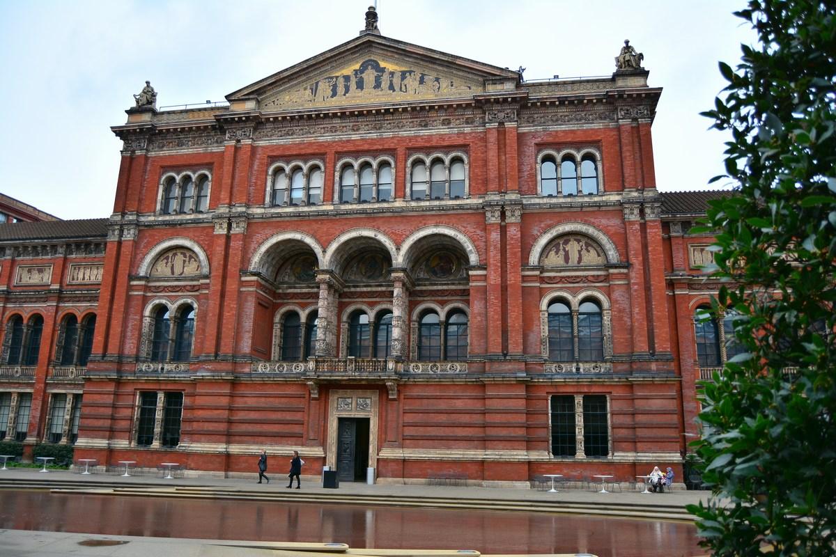 Victoria and albert Museum façade