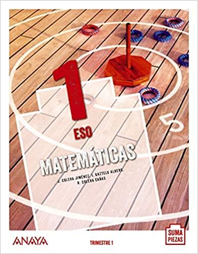 Libro Matemáticas 1º ESO Anaya Proyecto Suma Piezas
