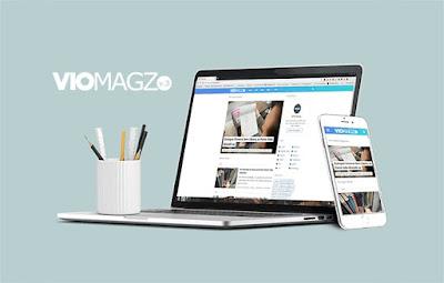 VioMagz Template Sejuta Umat Blogger Buatan Mas Sugeng