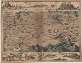 Kisalföld általános térkép, 1670.