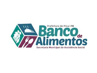 Banco de alimentos de Picuí tem beneficiado muitas famílias