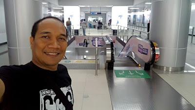 Stasiun MRT Bundaran HI.