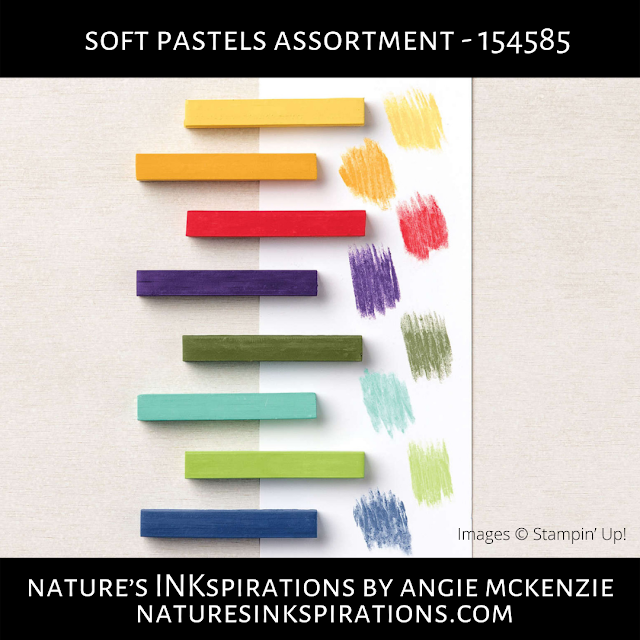 Soft Pastels Assortment graphic | Shop online with me, 24/7 | Nature's INKspirations by Angie McKenzie