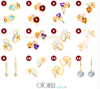 Logo Grande concorso perNatale: vinci gratis 2 gioielli in oro Gioielli Eshop