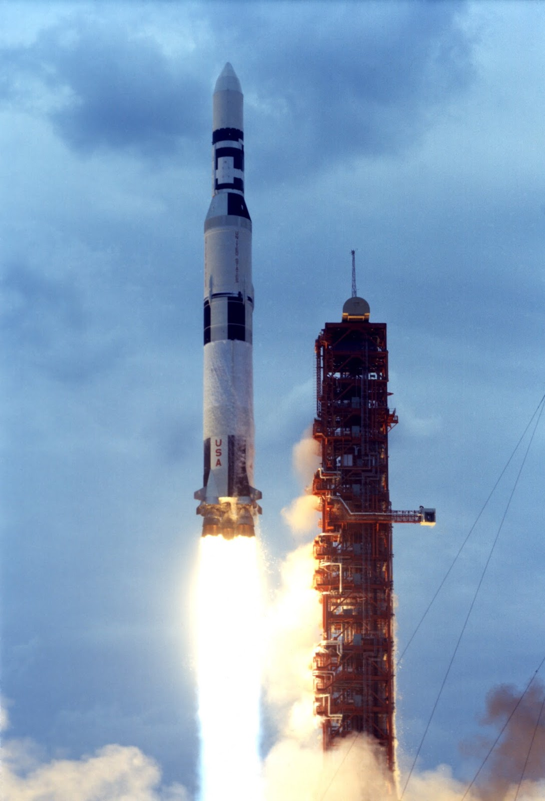 Spaceflight History: A Bridge from Skylab to Station ...