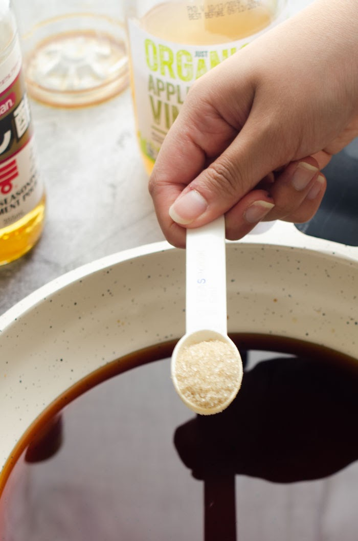 1 teaspoon of sugar Making yakitori sauce
