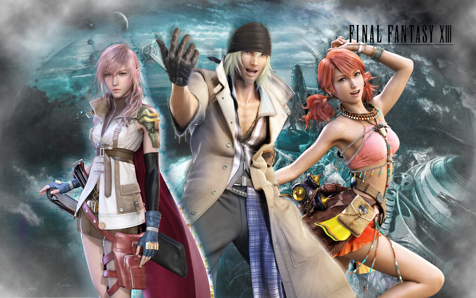 Only Wallpapers: Final Fantasy 13 HD Wallpapers