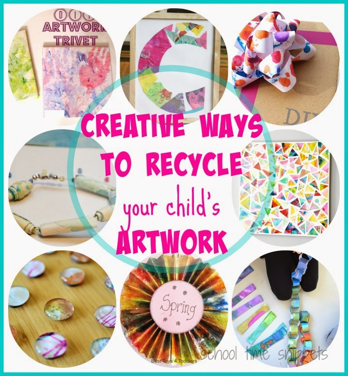 creative ways to recycle art projects