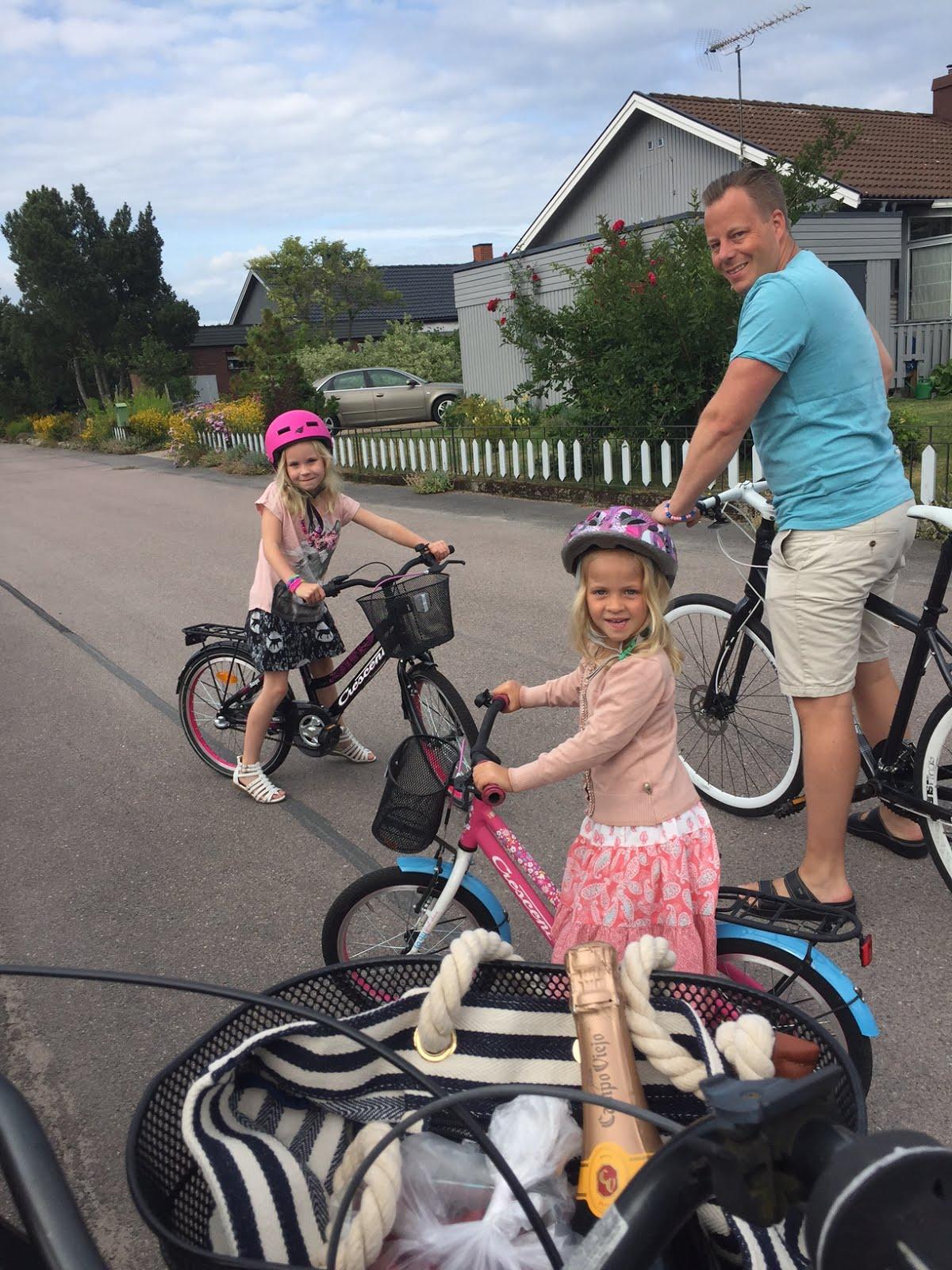 Sommar ar jobb med familjen
