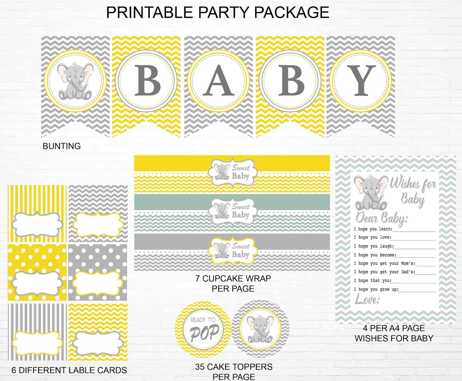 elephant-baby-shower-printable-pack