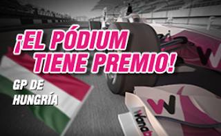 wanabet bono 50 euros GP de Hungría de F1 24 julio