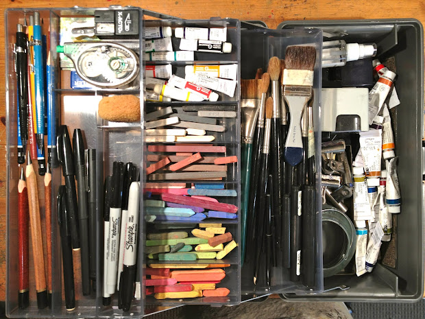Art And Life Supplies Box