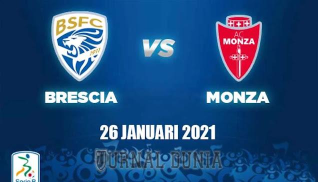 Prediksi Brescia vs Monza , Selasa 26 Januari 2021 Pukul 03.00 WIB