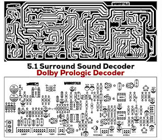 5.1 Surround Sound Decoder