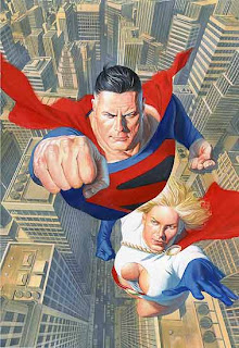 Superman+PowerGirl+Ross