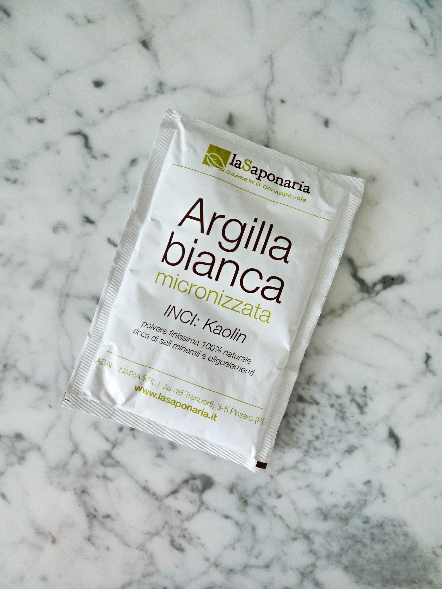 L'Argilla Bianca Micronizzata de La Saponaria