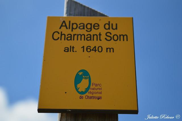 Alpage du Charmant dans le Parc Naturel Régional de Chartreuse