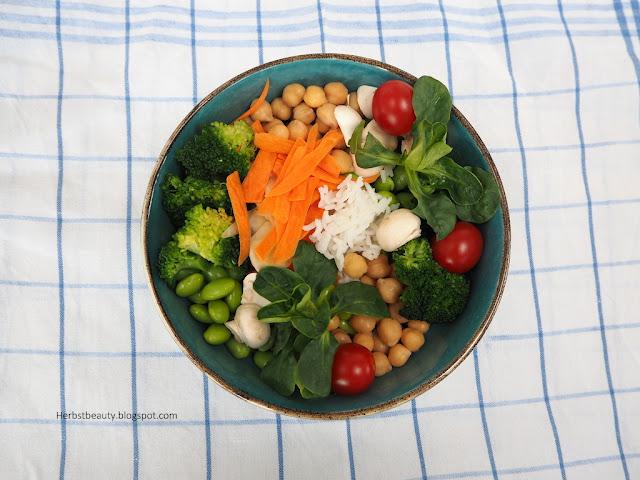 Winterliche Reis-Bowl